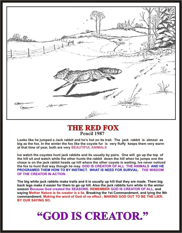 THE RED FOX PENCIL 1987