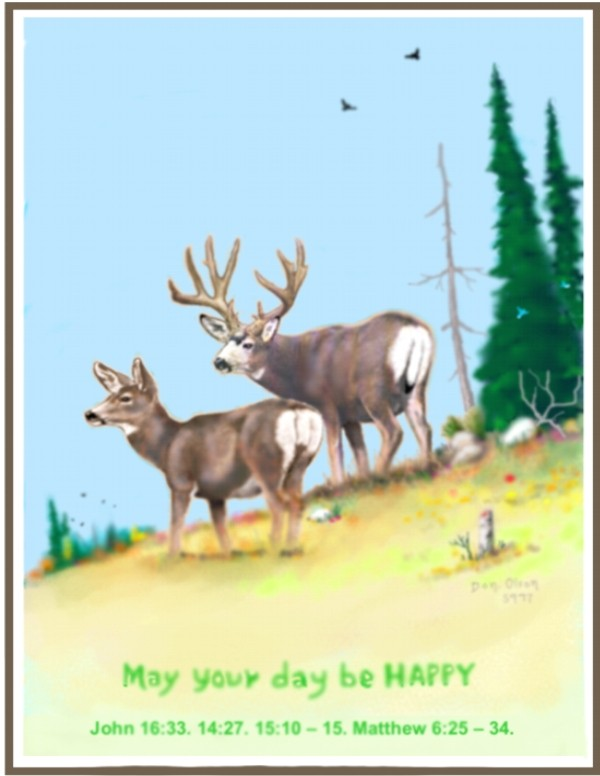 MAY YOUR DAY BE HAPPY