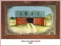THE OLD RED BARN 1892 CHICKEN