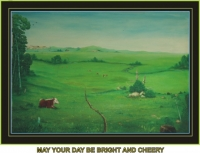A Beautiful Day Oil 1986